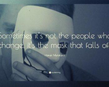 via la maschera
