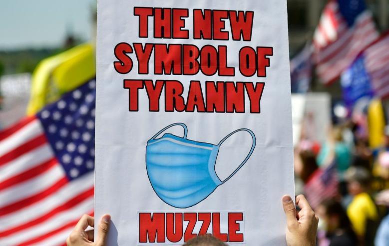 mask symbol of tyranny