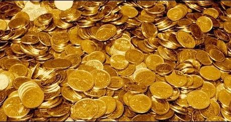 accumulo monete d'oro