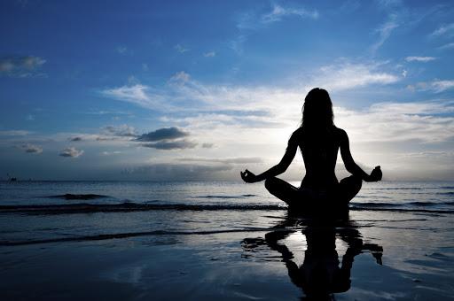 meditazione al mare